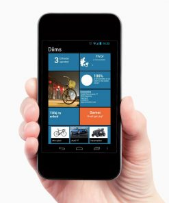Diims sporingsenhed app