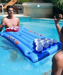 oppustelig beer pong pool