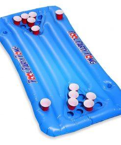 oppustelig beer pong spil