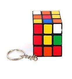 Rubik Cube nøglering