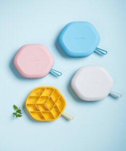 Pinmoo isterningebakke i silikone